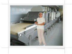 Essiccatore per prodotti da forno